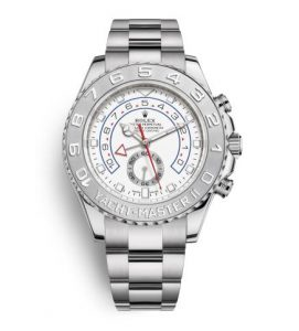 The durable fake Rolex Yacht-Master II 116689 watches can guarantee water resistance to 330 feet.