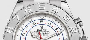 The luxury copy Rolex Yacht-Master II 116689 watches are made from platinum and white gold.