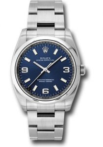 The excellent copy Rolex Oyster Perpetual 34 114200 watches can guarantee water resistance to 330 feet.