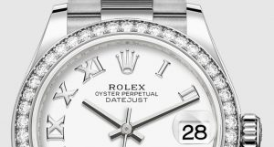 The luxury copy Rolex Datejust 31 278289RBR watches are decorated with diamonds.