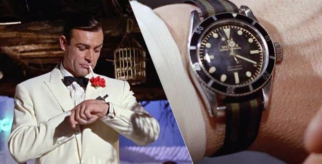 Rolex has been much more popular after James Bond wore it.