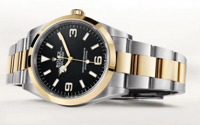 1:1 fake watches are new to make the use of combination of Oystersteel and gold.