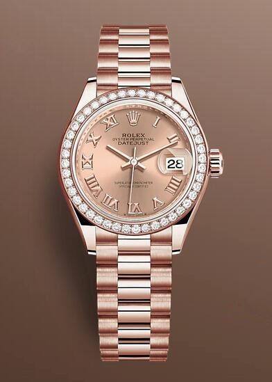1:1 fake watches highlight the value with diamonds.